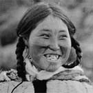 Portrait of Kila, Dolphin and Union Strait area, Coronation Gulf, Nunavut, 1916