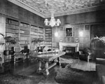 The Speaker's office, in the Centre Block of the Parliament Buildings, January 5, 1931