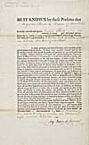 Form assigning legal powers to James Reid of Montréal, January 16, 1806