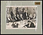Newspaper illustration of BANQUET TO THE RIGHT�HON. SIR�JOHN�MACDONALD, PRIME MINISTER OF CANADA, AT THE ST. GEORGE'S CLUB, January�16,�1886