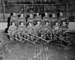 Team photograph, Montreal Canadiens, 1942