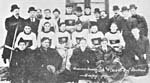 Photograph of the Wanderer Hockey Club and Executive of Montreal, Winnipeg, 1907