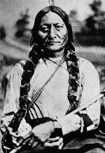 Photograph of Sitting Bull, Winnipeg, Manitoba, ca. 1885
