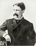 Photograph of J.A. Kittson, MD, served 1874-1882