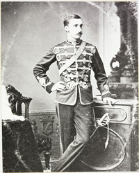 Photograph of Edmund Dalrymple Clark, served 1873-1880