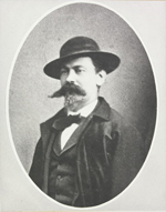Photograph of Jacob Carvell, served 1873-1875; former officer in Confederate Army, American Civil War