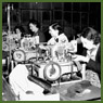 Female workers manufacturing military uniforms, Toronto, Ont