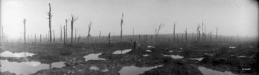Passchendaele, now a field of mud