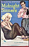 Cover of pulp book, MIDNIGHT SINNERS, number 36 (November 1946)