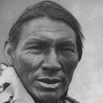 Photograph of a Cree man, Lac des Îles, Saskatchewan, 1928