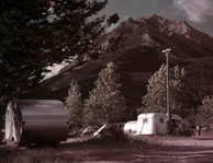 Trailer camp, Waterton Lakes