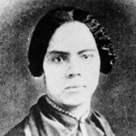 Photograph of Mary Ann Shadd Cary, circa 1845